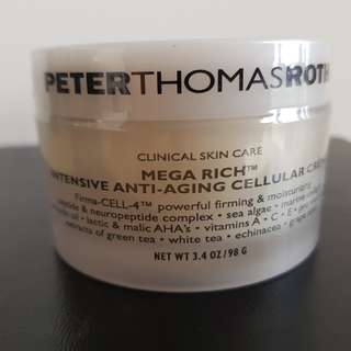 Peter Thomas Roth Mega Rich Intensive Anti-Aging Cellular Creme, 3.4oz/98g - BRAND NEW & SEALED