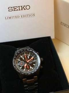 Seiko Criteria Chronograph World Time-Limited Edition