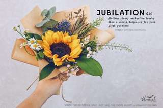 Graduation / Convocation Flower Bouquet - Jubilation
