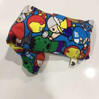Marvel hero iron man hulk captain america wonder women etc beansprout husk pillow case and husk pillow for baby children handmade can customise