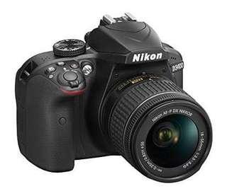 Nikon D3400 Kredit cepat bandung