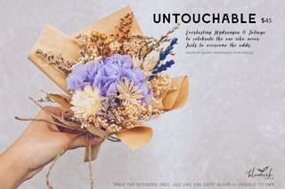 Graduation / Convocation Flower Bouquet - Untouchable