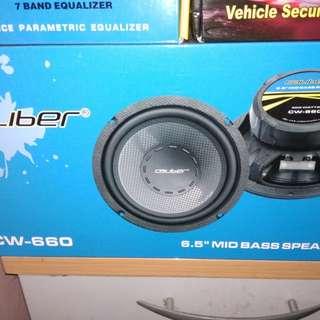 Caliber 6.5 speaker