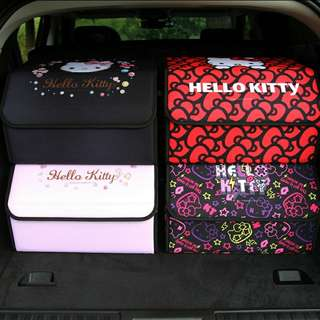 Hello Kitty Car Storage Box (Preorder)Free Delivery