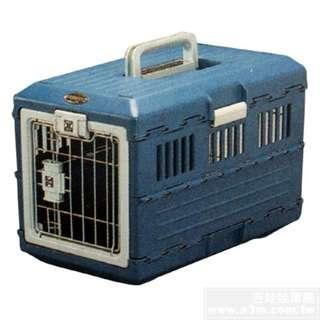【出清品】日本IRIS航運用折疊運輸籠-藍色(小)$1499免運費宅配