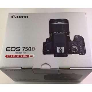 Canon 750D kit kredit tanpa kartu kredit