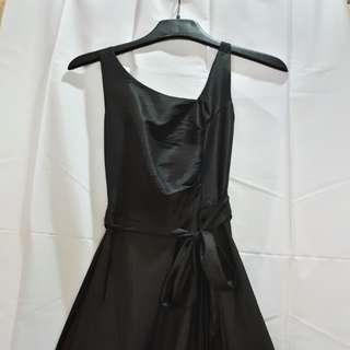 Ann Frances Black Cocktail Dress