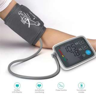Germany Version Fully Automatic Digital Upper Arm Blood Pressure Monitor Clinically Validated Sphygmomanometer Health Care