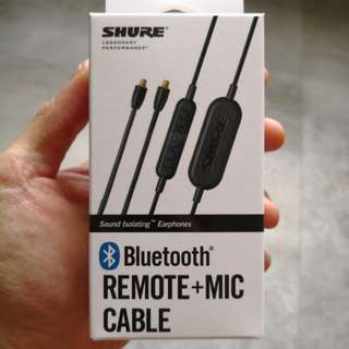 Shure Bluetooth Remote + Mic Cable (RMCE-BT1)