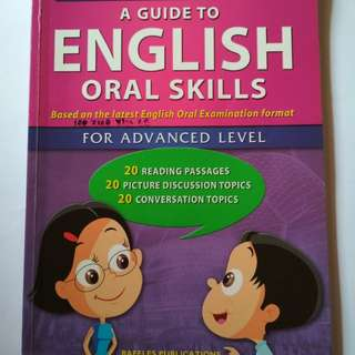 Guide to English oral skills