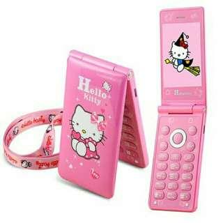 Hello Kitty D10 flip phone
