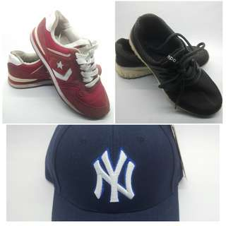 Running Shoes for Less & Cap