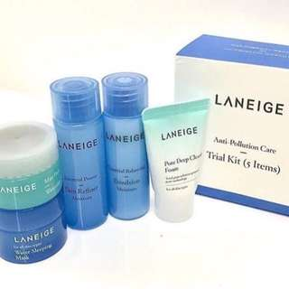 Laneige anti pollution care trial kit