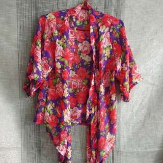 ONHAND FLORAL KIMONO (SUMMER NA BES)