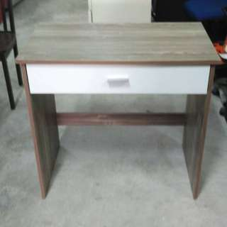 Study Table with Drawer (L80 x D48 x H76 cm) * L14 E