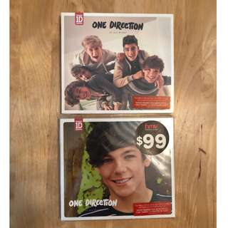 One Direction Up All Night & Louis Tomlinson Version CD