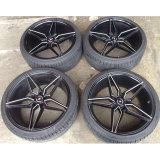 SPORT RIM 20inch INFORGED USED RIMS & TYRE