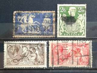 Great British used stamps