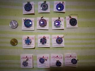 Murano glass pendants -small