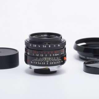 Leica 35mm f2 black paint