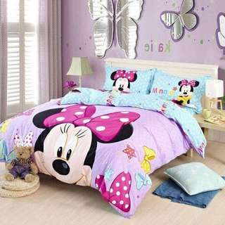 💟CADAR DISNEY  6IN1 COMFORTER TEBAL