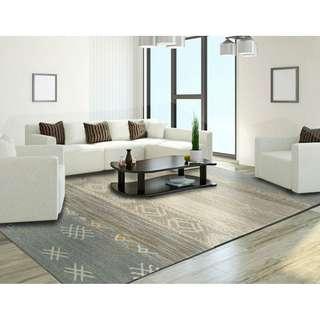 Carpet   Rustic Chenille Rug