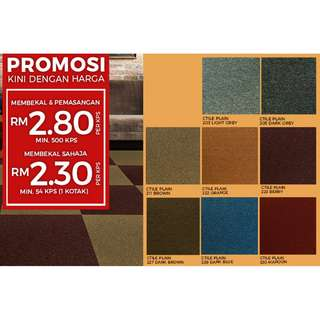 Great Carpet Tiles Promotion!