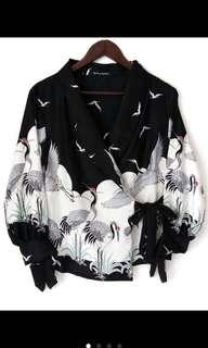 blouse kimono blazer daisy bkk