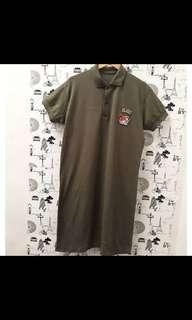 Dress Polo Army 2XL bigsize