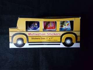 BN Reward/Merit Stickers School Bus (540 stickers)