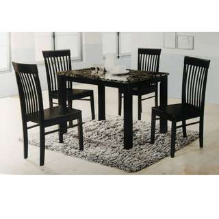 4 SEATER DINING SET (ART TOP TABLE)