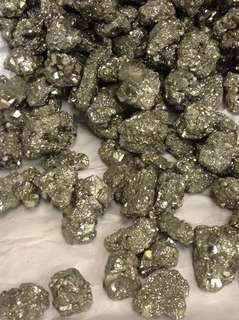 Pyrite (bright and shiny quality)