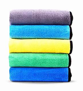Fiber Washing Cloths Towel Car/Kitchen 5pcs 40x30cm