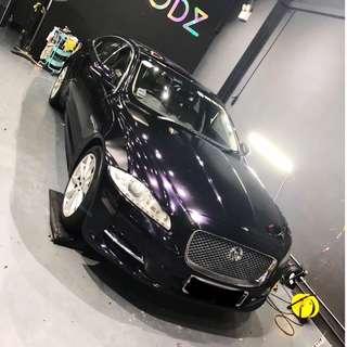 Jaguar XJL 3M Gloss Wicked Car Wrap