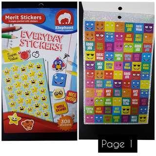 BN Reward Sticker Book (308 stickers)