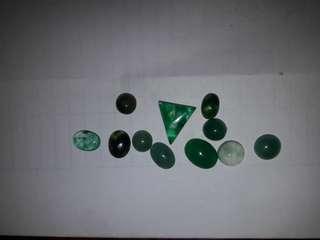 Batu bacan doko top kristal.(minion)