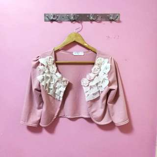 Short Pink Outwear