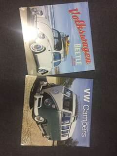 2018 volkwagen kombi & beetles COLLECTABLE calender
