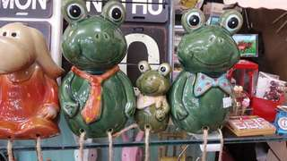 Frog Decorations (Set)