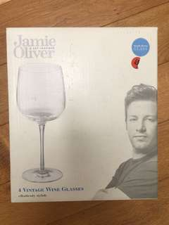 Jamie Oliver vintage wine glass