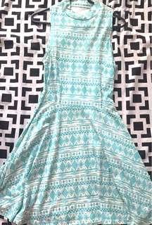 Mint Green Haltered Dress