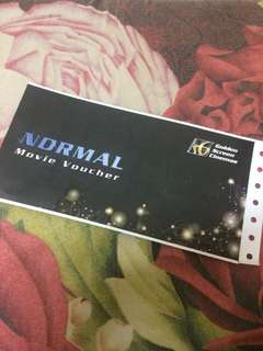 Normal Movie Voucer GSC