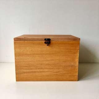 Handcrafted Wooden Wedding Box