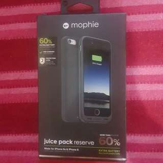 Mophie Juice Pack Reserve (Extra Battery for iPhone 6 & iPhone 6s)