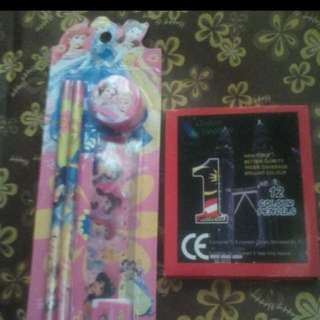 Alat Tulis Princess Dan Pensil Warna