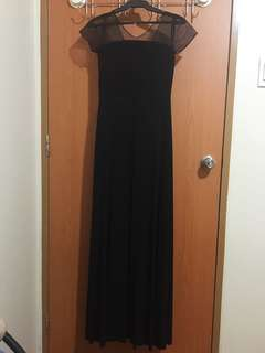 KARIMADON Black Long Dress