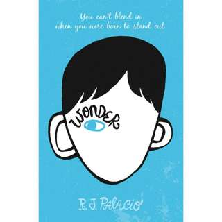 Free ebook - Wonder (Wonder #1) by R.J. Palacio
