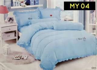 💟SET CADAR I MISS YOU COMFORTER TEBAL