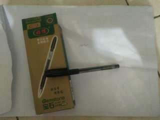 Black Gel pen