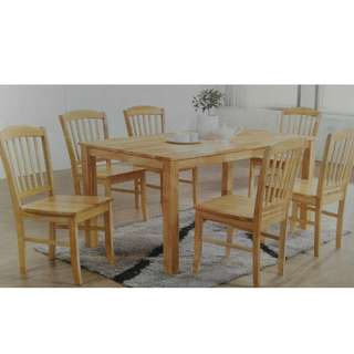 OAKWOOD DINING SET